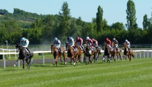 Pferderennen Hippodrom